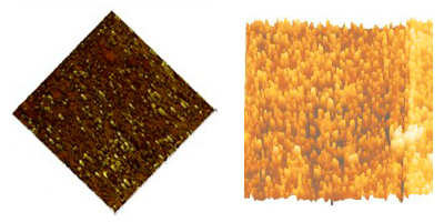 Biocompatible polymer characterization by AFM