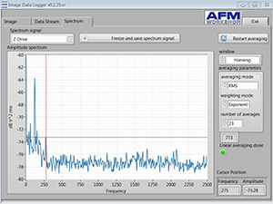 Image Logger Spectrum Analyzer